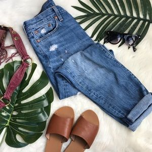 Levi's | Distressed High Waisted Jeans 29